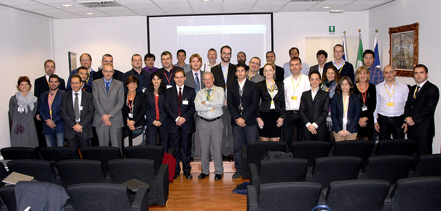 nSHIELD meeting in Florence: group picture